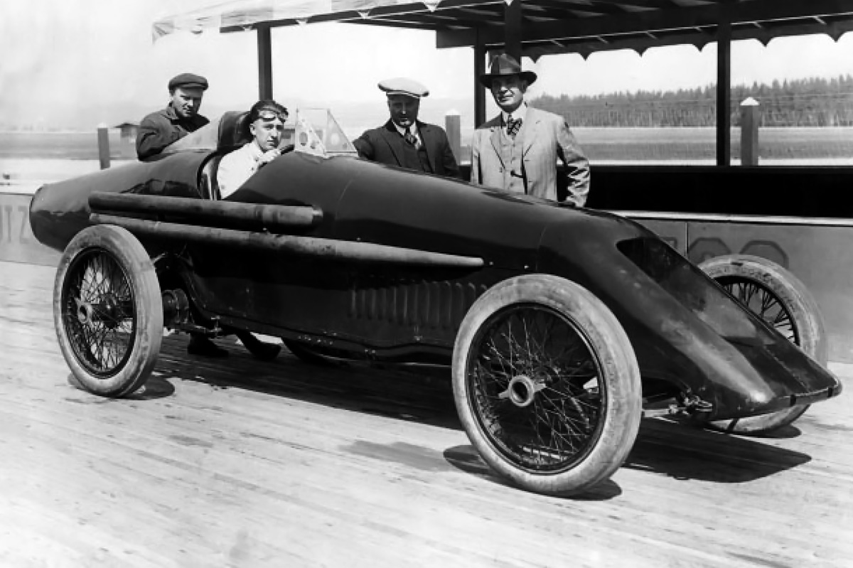 Duesenberg-Milton Land Speed Record Car