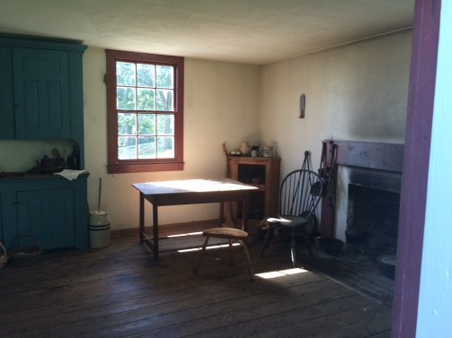 Interior of Overseer's Quarters Highland