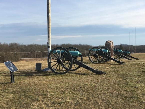 Artillery Barlow Knoll