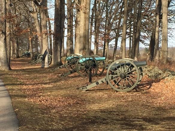 Confederate Line Seminary Ridge