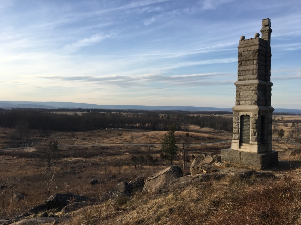 NW from Little Round Top