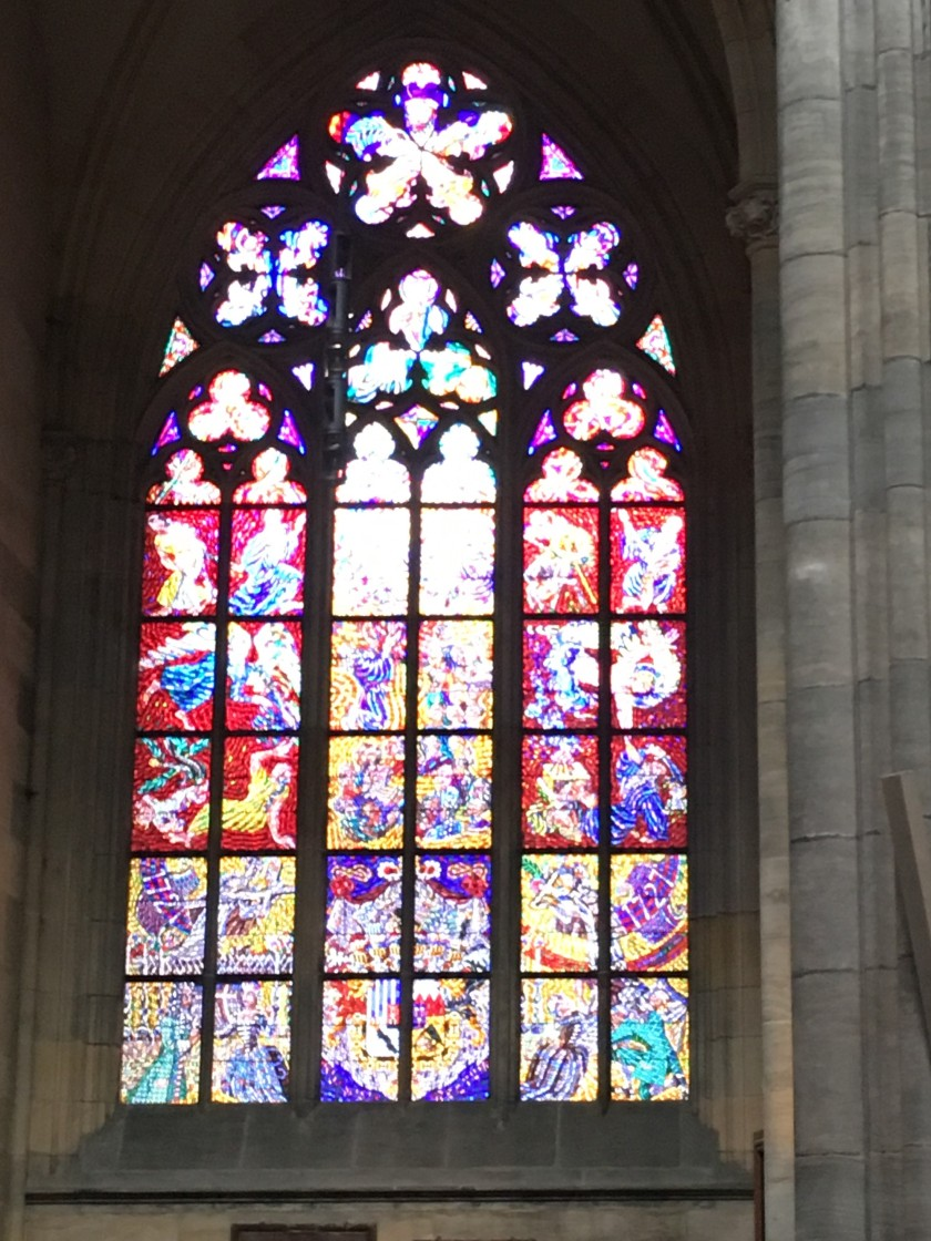 Stained Glass 2 St. Vitus