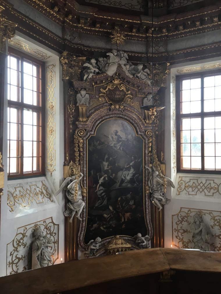 upper belvedere chapel