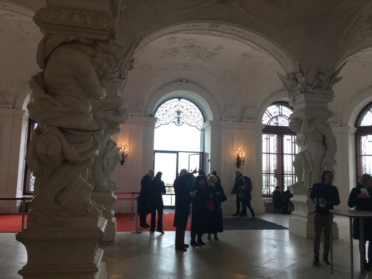 upper belvedere sala terrena