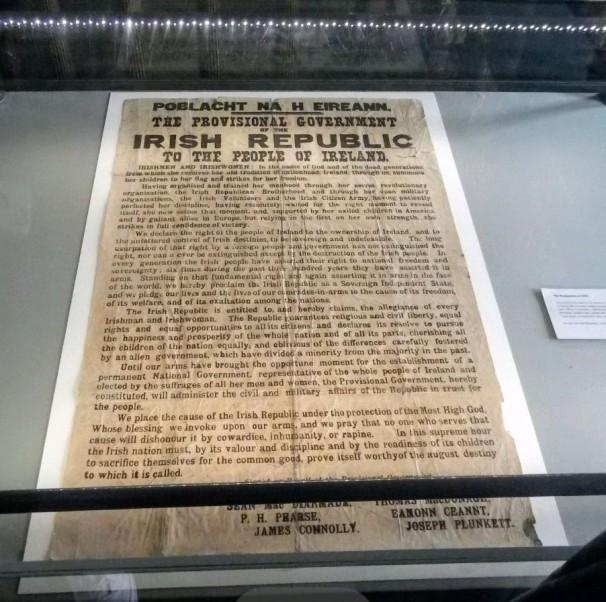 Proclamation of the Irish Republic 1916