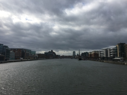 The Liffey River Dublin