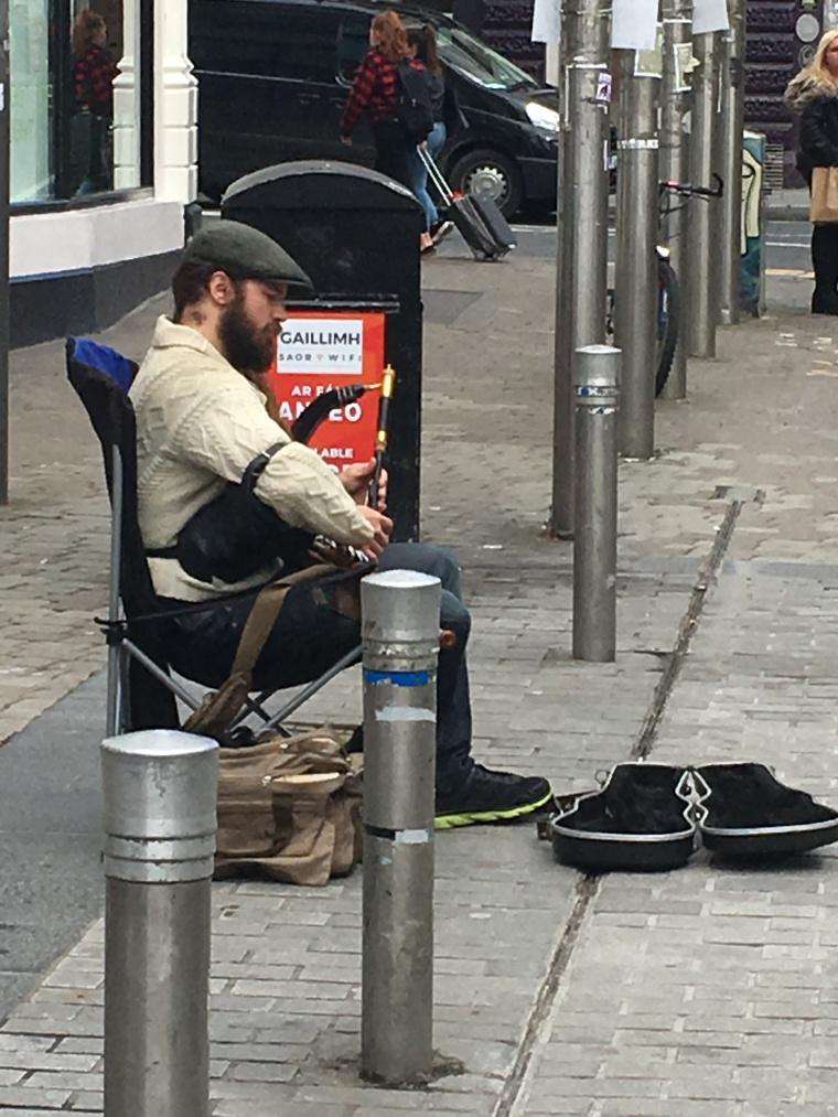 Street Performer Galway